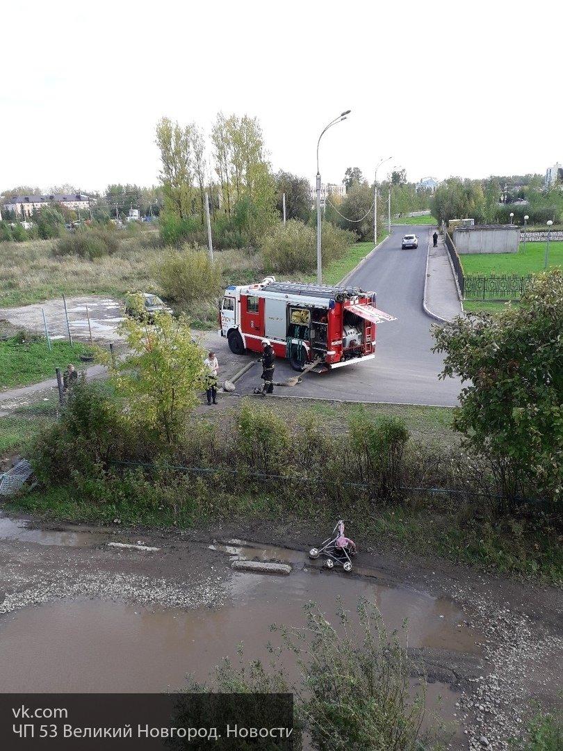 При пожаре в Неноксе погиб человек