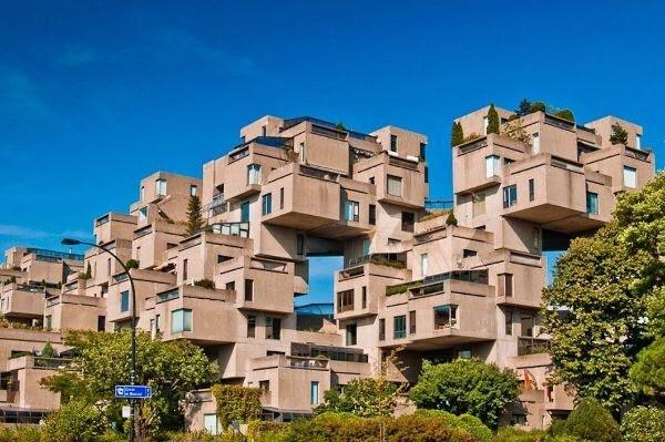 Самый хаотичный дом в мире: жилой комплекс Хабитат 67