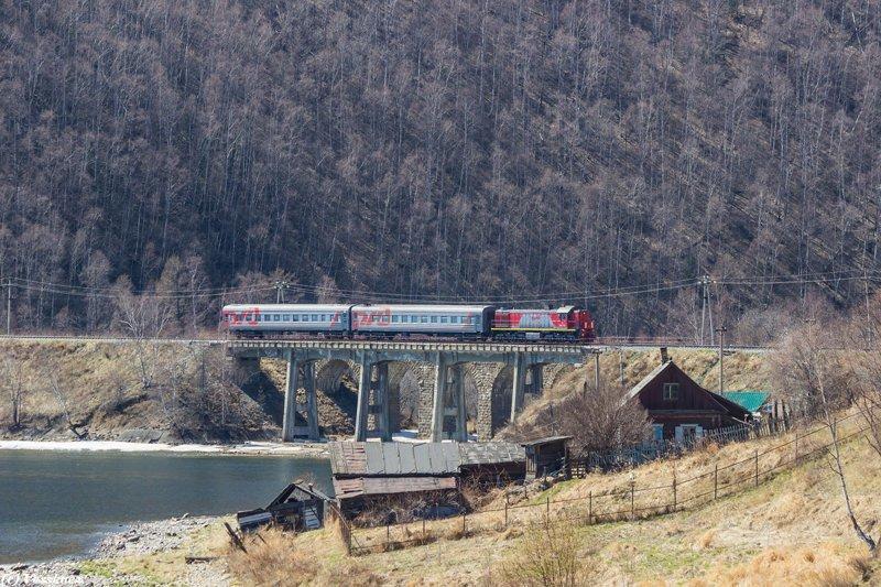 Избранные пейзажи Кругобайкальской железной дороги байкал, железная дорога, эстетика