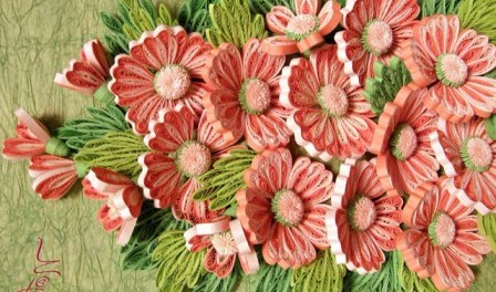 МАСТЕРИЛКА. Цветы из бумаги