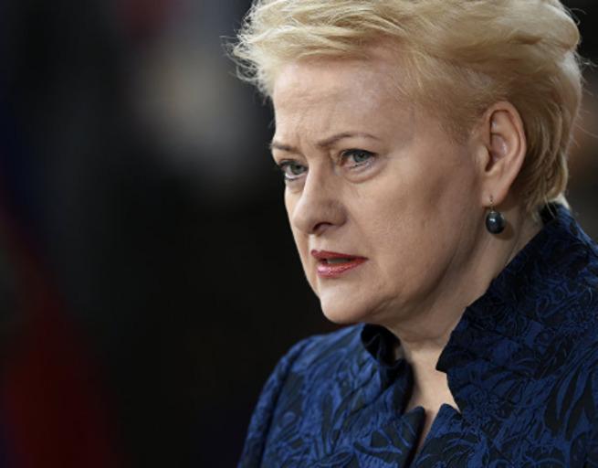 """""""Европа ошеломила Литву своими заявлениями"""" - Грибаускайте разозлилась на Европейских лидеров"""