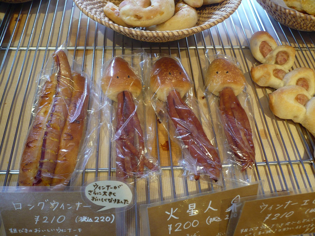 Самые необычные хот-доги на планете хотдог, Хотдог, конечно, сосиска, палочке, всего, можно, хотдоги, разных, соусом, внутри, луком, сыром, булки, булке, опасный, Однако, карне, который, купить