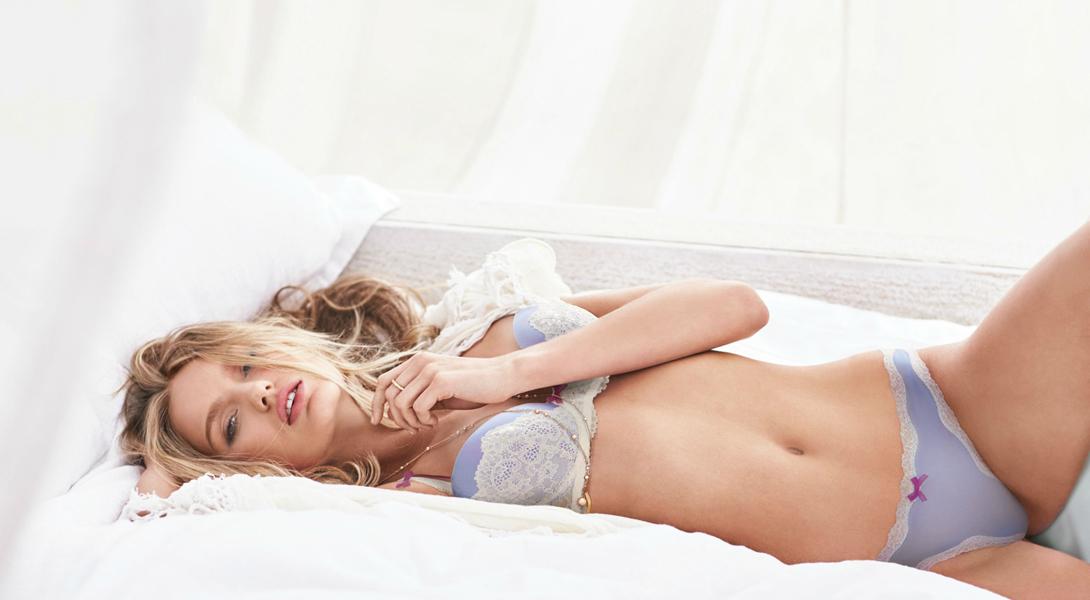 Горячая съемка новых ангелов Victoria's Secret