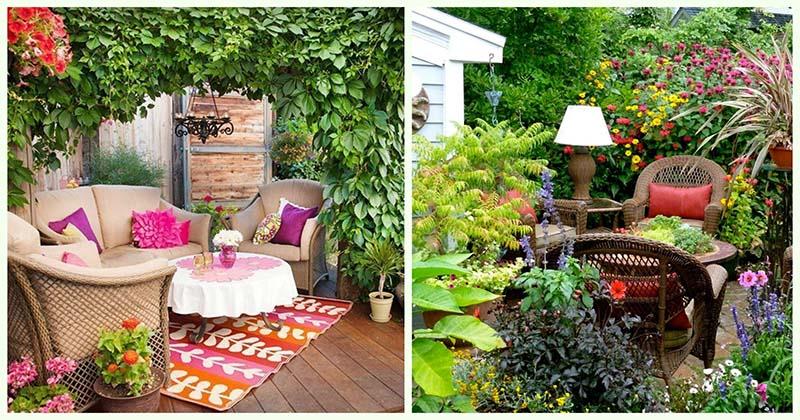 15 замечательных идей по обустройству зоны отдыха в саду