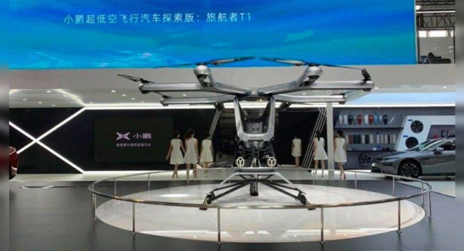 Компания Xpeng Motors планирует выпустить летающий автомобиль до конца 2021 года Автоновинки