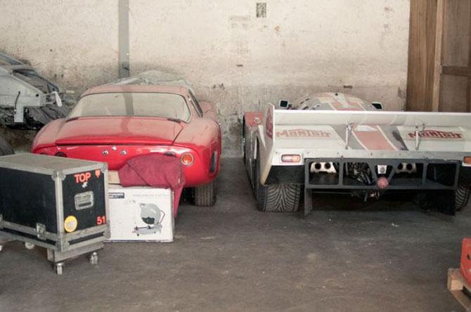 Скромный сарай или коллекция суперкаров