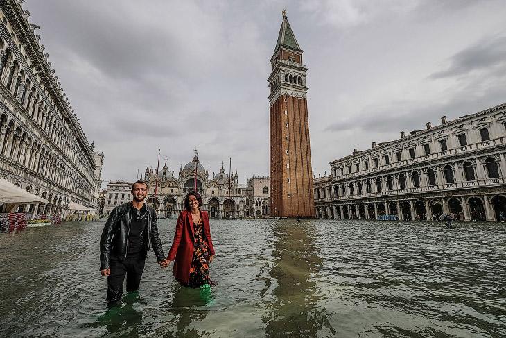 Прогулка по затопленной Венеции