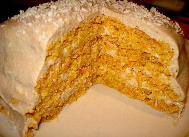Легкий йогуртовый торт с мор…