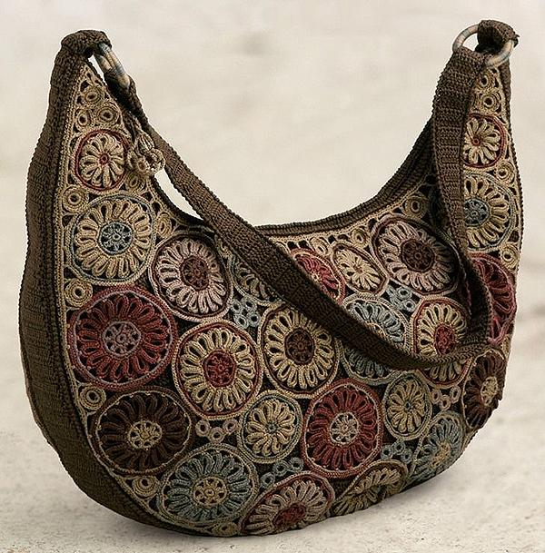a27316a4c77f Вязаные сумки: богатство фантазии дизайнеров
