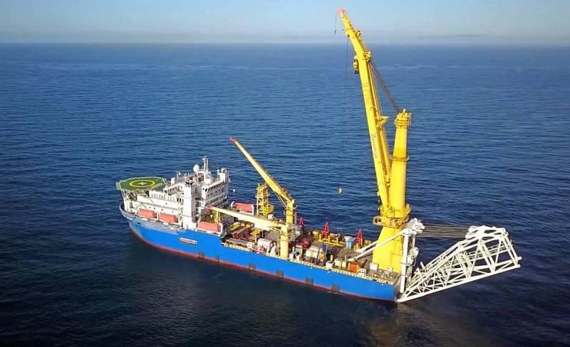 В США заметили подготовку России к завершению строительства газопровода «СП-2»