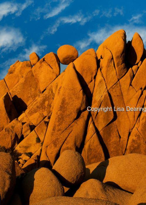 9. Большие валуны, Национальный парк Джошуа-Три, Калифорния красота, мир, природа