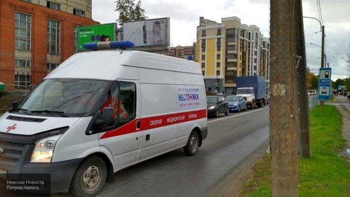 На трассе Оренбург-Орск в аварию попал Lifan, один человек пострадал