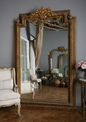 Зеркало в полный рост в интерьере, большое зеркало (фото интерьеров)