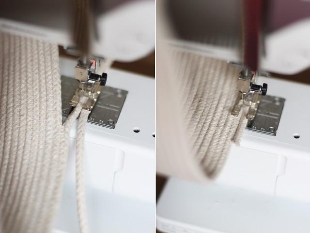 Сумка-тоут из веревки своими руками