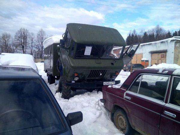 Полноприводный дом на колесах — на базе ГАЗ-66