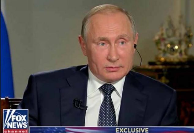 Путин посоветовал Fox Nes лучше изучить ролик о российском вооружении
