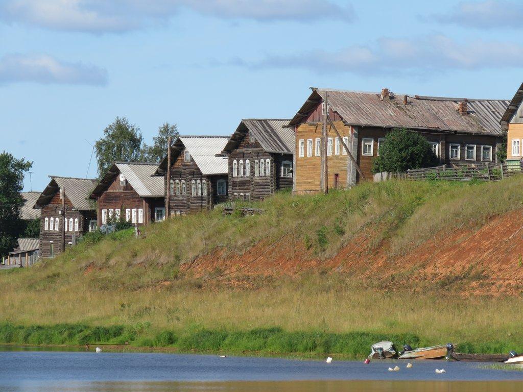 Самые красивые деревни России:  Кимжа —  северная старина