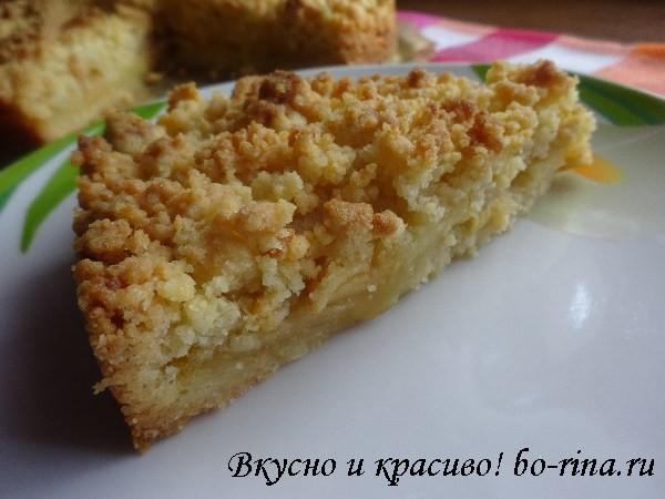 Десертный вихрь. Пироги с яблоками.  Яблочный пирог со штрейзелем. Экспресс-рецепт