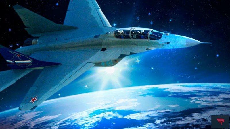 Миг-31 поднялся к границе ближнего космоса 21 500 метров над землей. Улетное видео видео, космос, миг