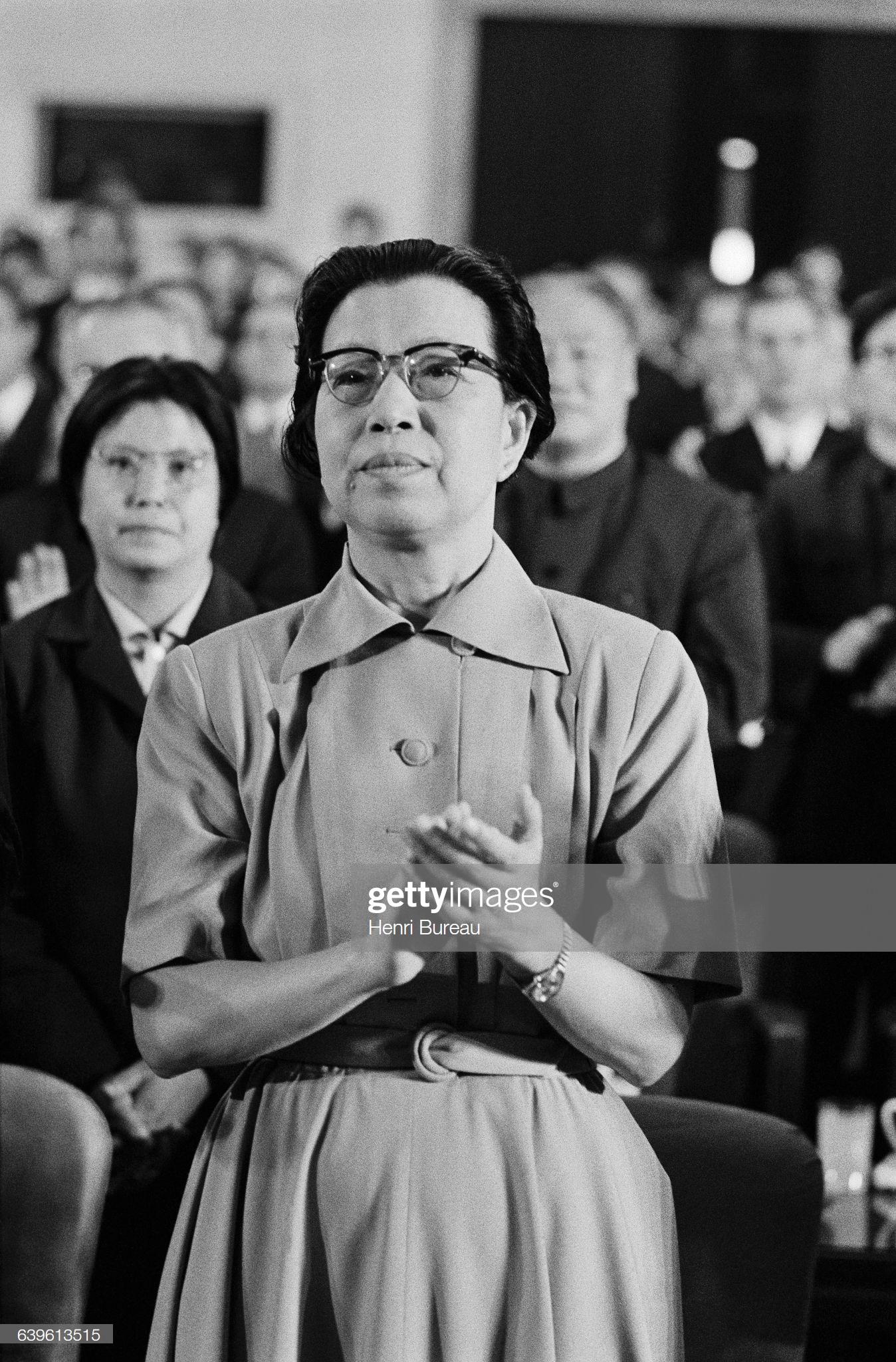 Китайский политик Цзян Цин, жена президента Мао Цзэдуна: Фото из новостей