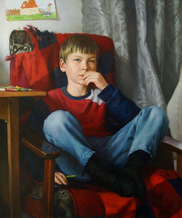 Детство. Автор: Владимир Александров.