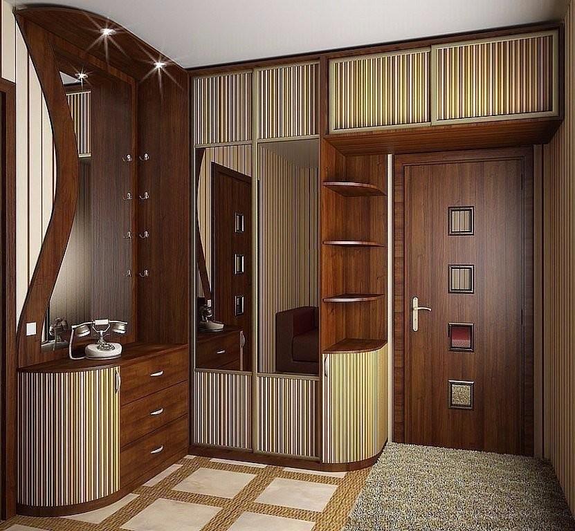 Шкаф вокруг двери, интересны…