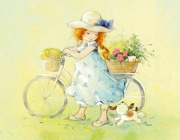 Милые иллюстрации Екатерины Бабок