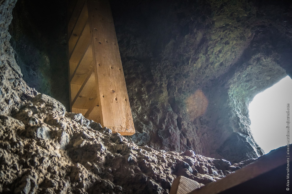 Удивительный пещерный монастырь Ванис-Квабеби