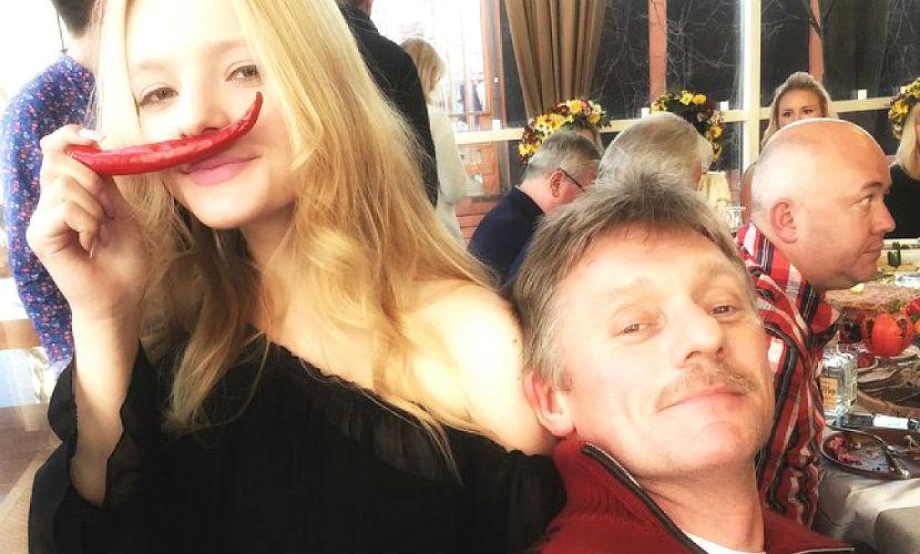 17-летняя дочь Пескова объяв…