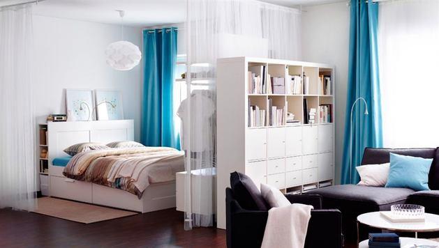 Мебель и предметы интерьера в цветах: бирюзовый, черный, серый, белый. Мебель и предметы интерьера в стиле скандинавский стиль.