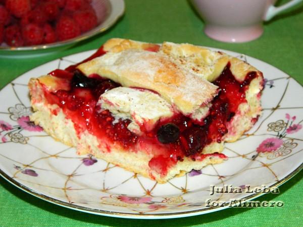 Мультиягодный пирог
