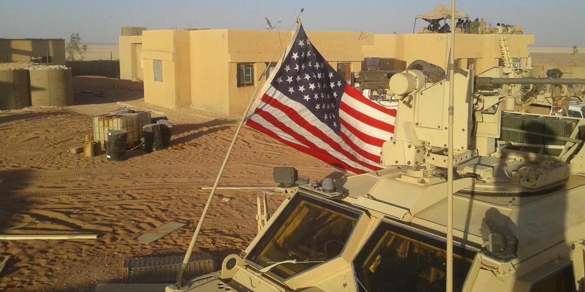 Генштаб ВС РФ призвал США оставить военную базу в Эт-Танфе