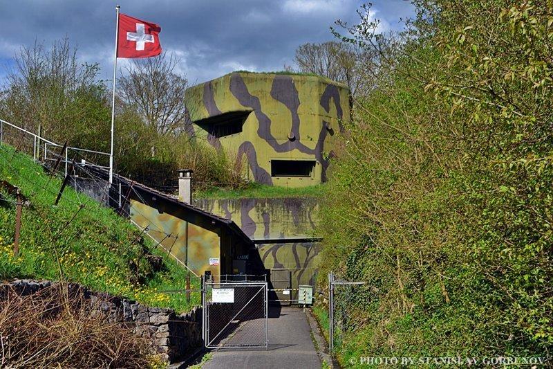 Форт Ройенталь - логово швейцарских пенсионеров! путешествия, факты, фото