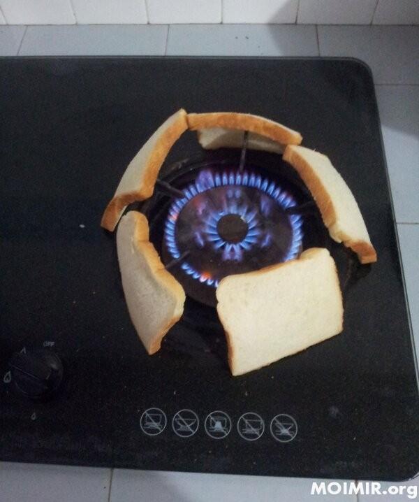 Рецепт дня.Как сделать тосты?