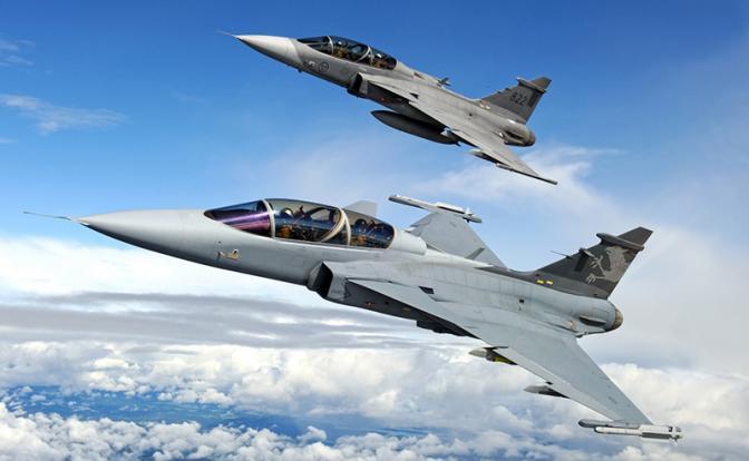 Насколько сильнее стала новая модификация шведского истребителя JAS 39 Gripen E