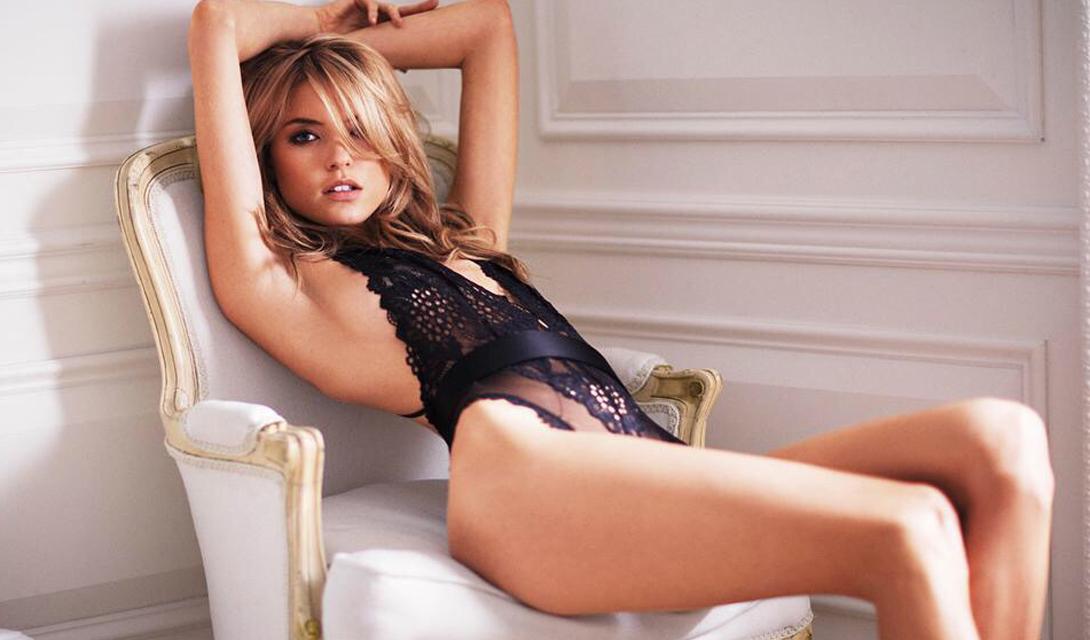Марта Хант: самый милый ангел Victoria's Secret