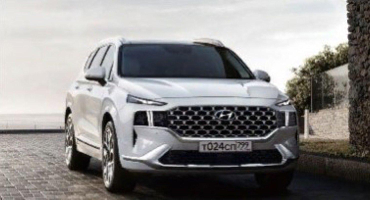 Hyundai представила в России спецверсию обновленного кроссовера Santa Fe Автоновинки