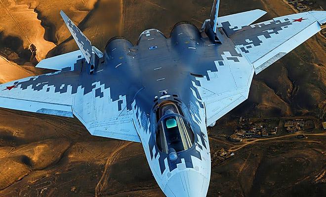 Пилот показал маневры, на которые способен только российский истребитель пятого поколения Су-57 Культура