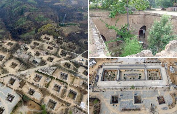 Необычные подземные жилища китайцев
