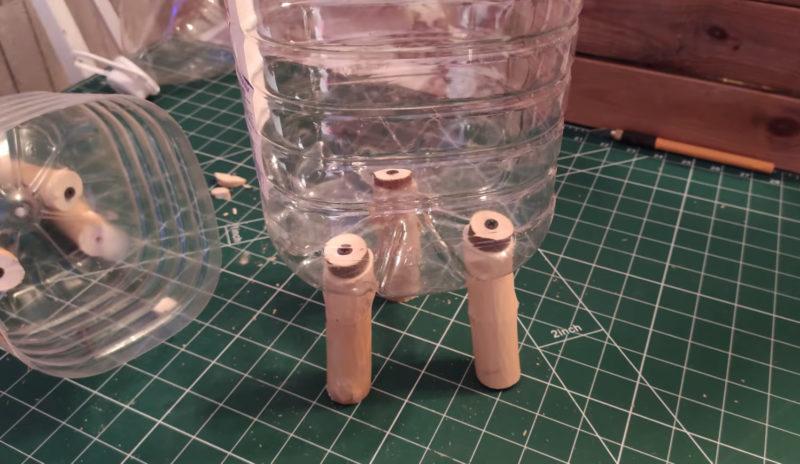 Только посмотрите, какую красоту можно сделать из пластиковой бутылки интерьер,переделки,рукоделие,своими руками,сделай сам