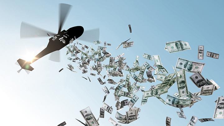 """МВФ рассыпал над Россией """"вертолётные деньги"""". Теперь нам придётся за это платить геополитика,россия"""