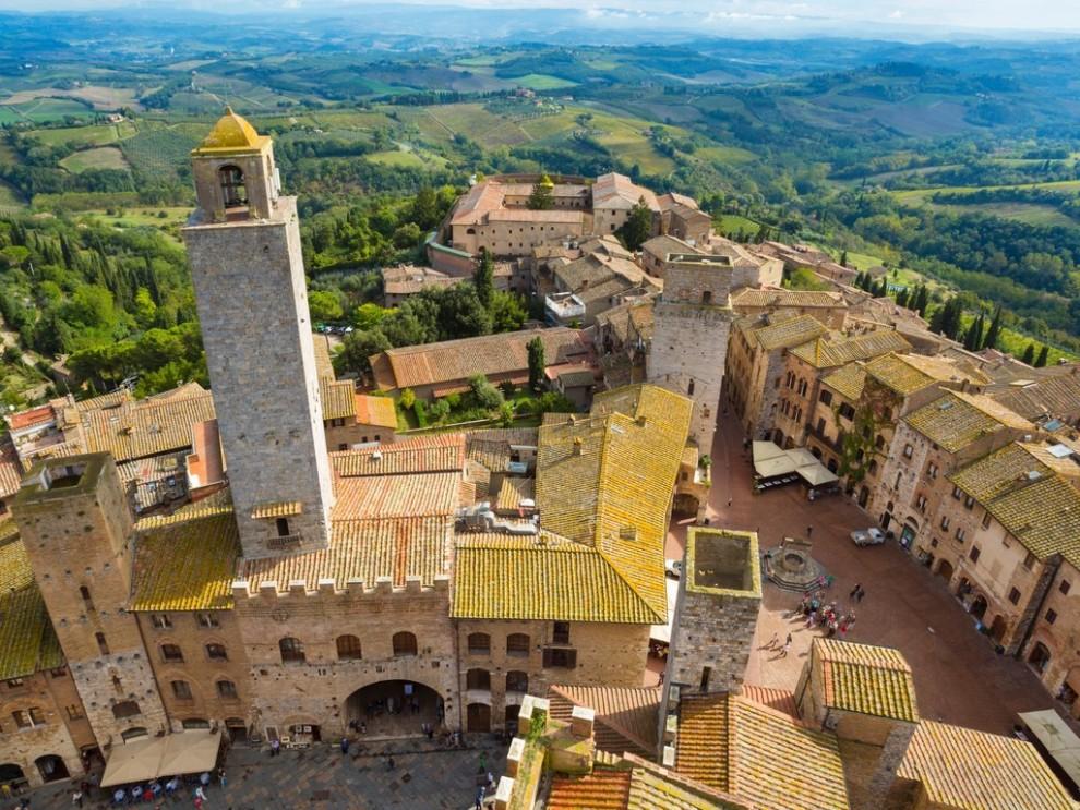 Прелесть горных городков Италии города