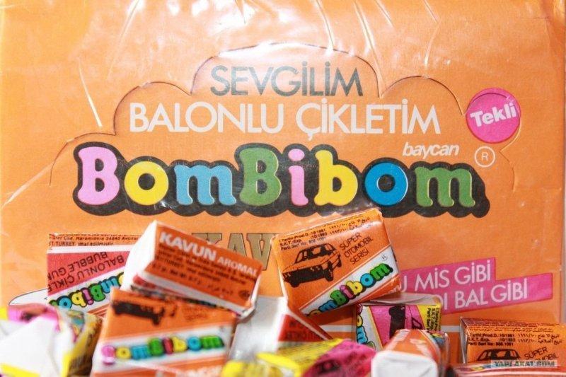 Вкладыши Bombibom: артефакт из 90-х... Их собирали все