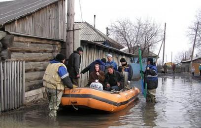 В России расширяется география весенних паводков