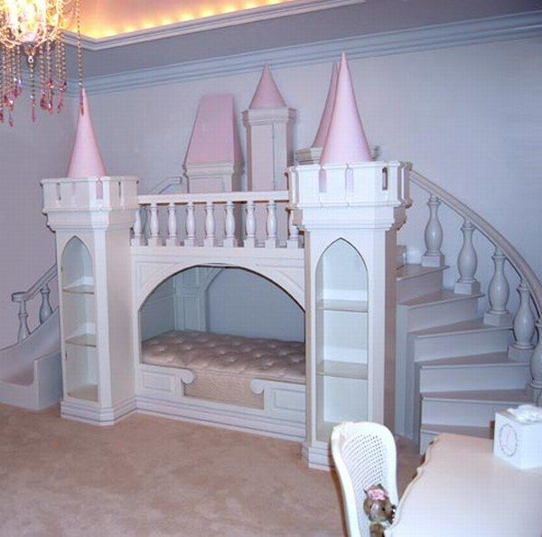 Настоящий дворец в детской
