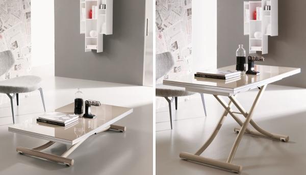 Многофункциональная мебель - журнальный стол трансформер