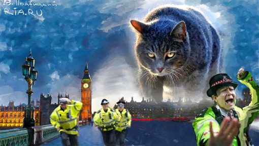 Кот Скрипалей мстит Британии