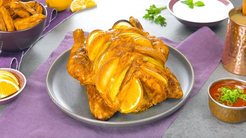 Фаршированная курица чарга: блюдо пакистанской кухни в вашем меню