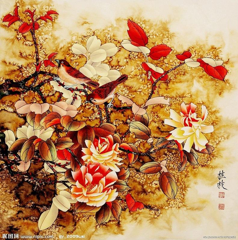 Творчество художника из Поднебесной Чжин Хонгджун