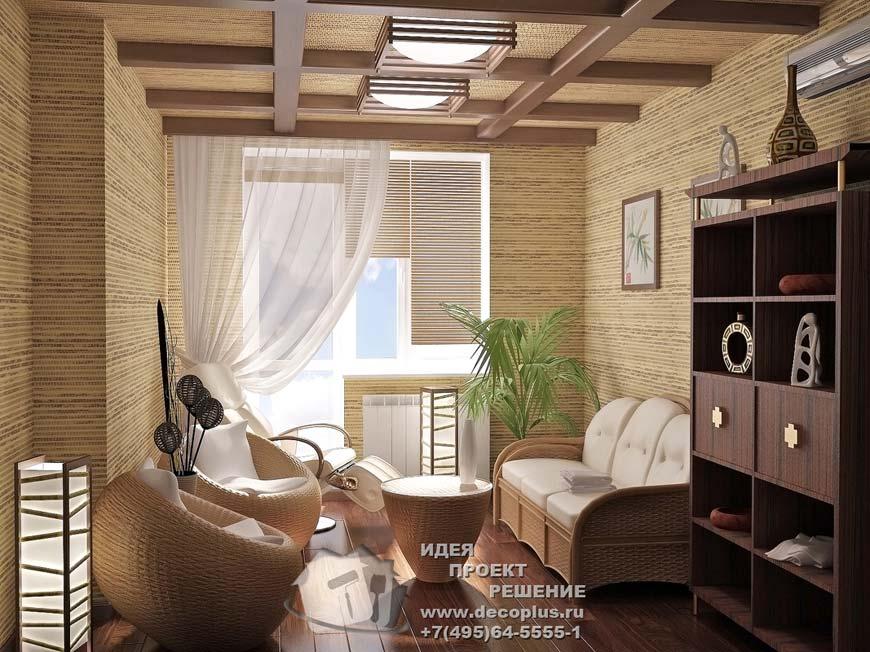 Экостиль в интерьере квартиры